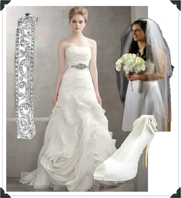 Chelsea Clinton Bridal Look For Less – If I Was A Stylist