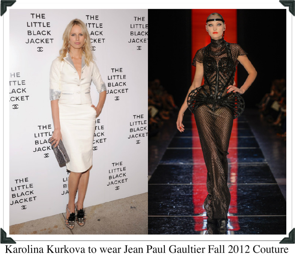 Haute couture wish list jean paul gaultier if i was a for Haute couture list