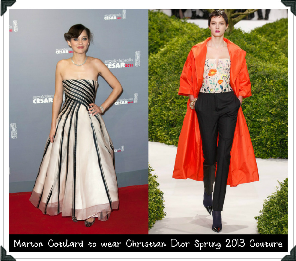 7a6be52db3f If the French beauty and Christian Dior spokesmodel actually attends the  2013 MTV Movie Awards then I ...