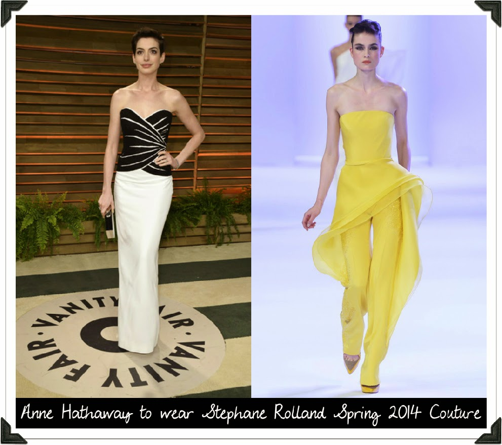 Anne Hathaway Real Name: 2014 Met Ball: Anne Hathaway, Claire Danes, Emmy Rossum