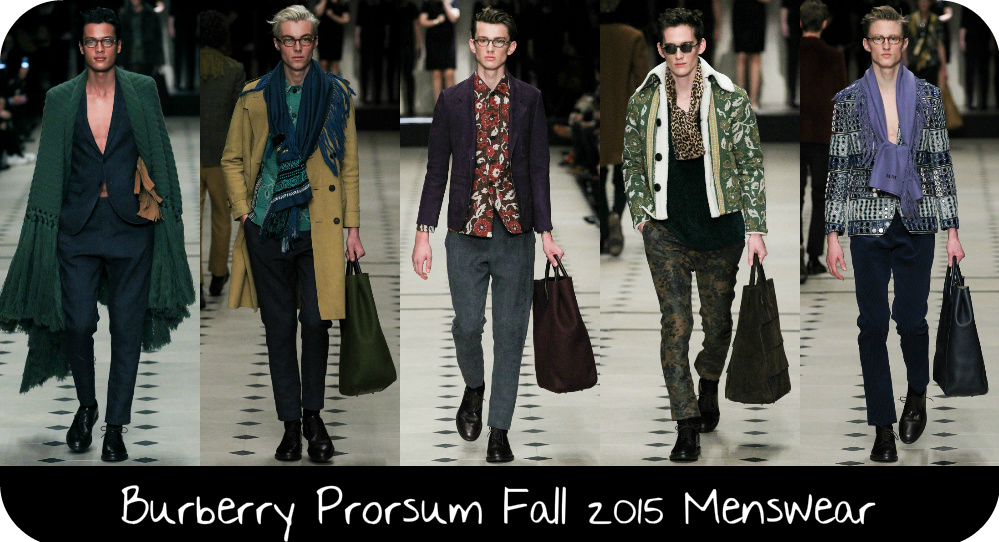 """1a531bab60c """"Classically Bohemian"""" that is the title that creative director Christopher  Bailey gave the Burberry Prorsum Fall 2015 Menswear collection which was ..."""
