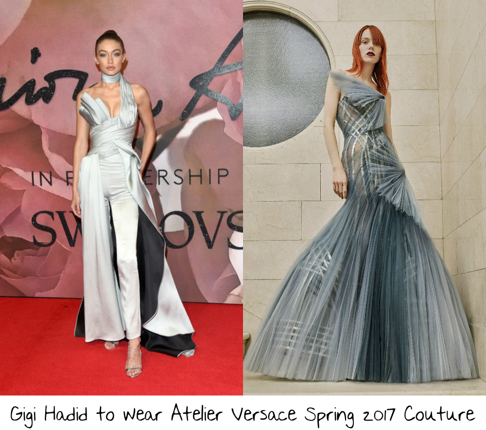 75d5ae25d Gigi Hadid has been a guest of Diane von Furstenberg and Tommy Hilfiger at  past years Met Gala's and I am intrigued to see who and what she will wear  for ...