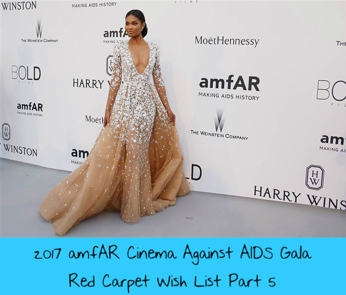 a394b6b2b78 Cannes 2017  amfAR Cinema Against AIDS Gala Red Carpet Wish List ...