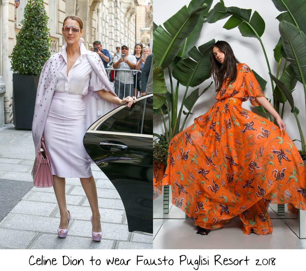 5c2ad01243f Celine has worn a lot of over the top looks on the sidewalk
