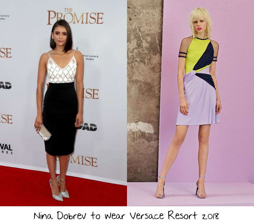 Nina Dobrev is a favorite to see on the red carpet so I am hoping that her  nomination for Choice Action Movie Actress for her role in xXx: Return of  Xander ...