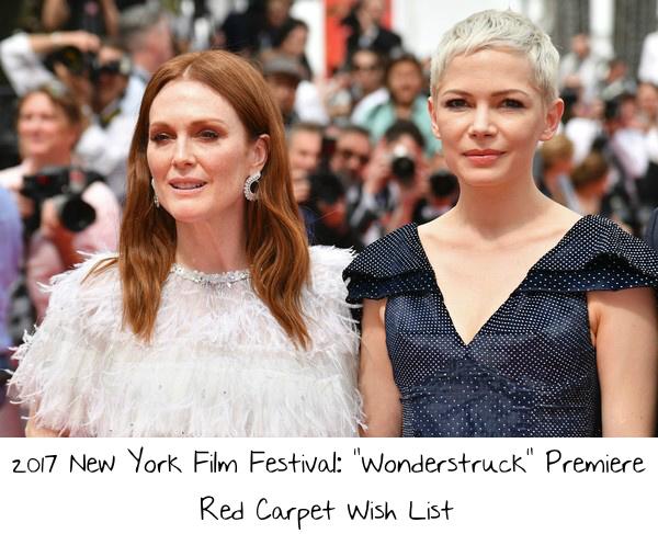 2017 New York Film Festival Wonderstruck Premiere Red