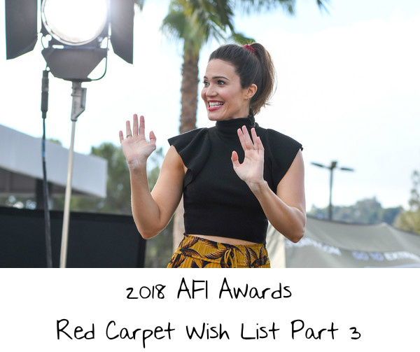 7d5905c676be 2018 AFI Awards Red Carpet Wish List Part 3 – If I Was A Stylist