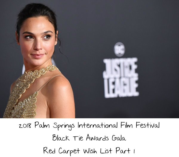 2018 Palm Springs International Film Festival Black Tie