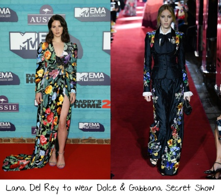 bd193b4f299 Lana Del Rey isn't usually one of my favorites to see on the red carpet. I  usually feel like she doesn't try hard enough. She made me eat those words  when ...