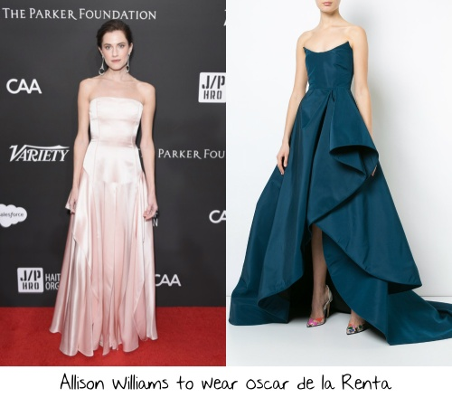 0e01ddb458 Allison Williams is one of the stars of the Best Picture nominated Get Out  and has been out walking red carpets promoting the film real hard