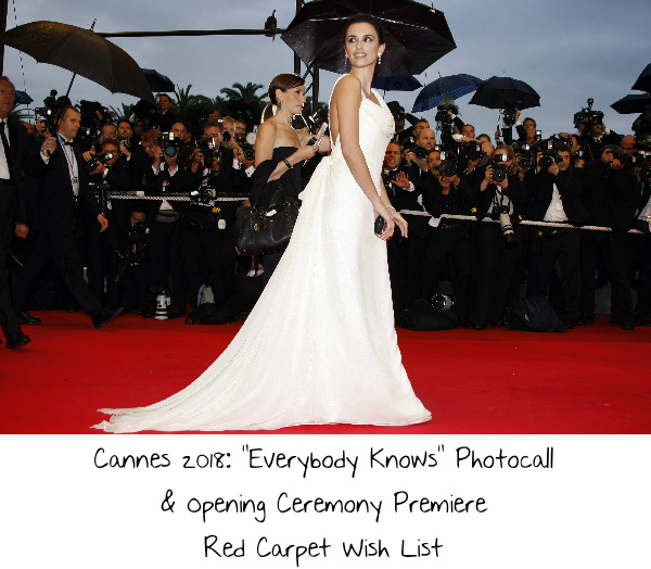 """1c64b9b8dd Cannes 2018  """"Everybody Knows"""" Photocall   Opening Ceremony Premiere ..."""