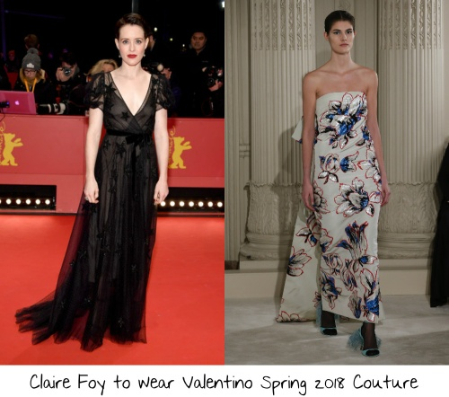 6951ef63ac Claire Foy made her Met Gala debut last year bucking the theme of gowns  inspired by the codes of Comme des Garçons Rei Kawakubo wearing a beautiful  custom ...
