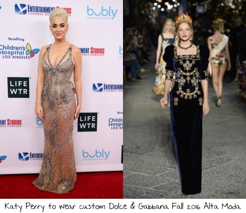 26c0a48f886 Katy Perry was one of the co-hosts of last years gala and she absolutely  shut the red carpet down from the open wearing Maison Margiela Artisanal  Couture ...