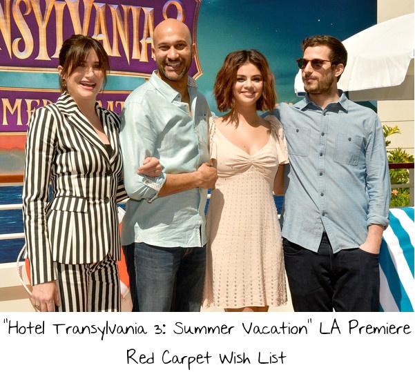 "0fe2cb10d58 ""Hotel Transylvania 3  Summer Vacation"" LA Premiere Red Carpet Wish List"