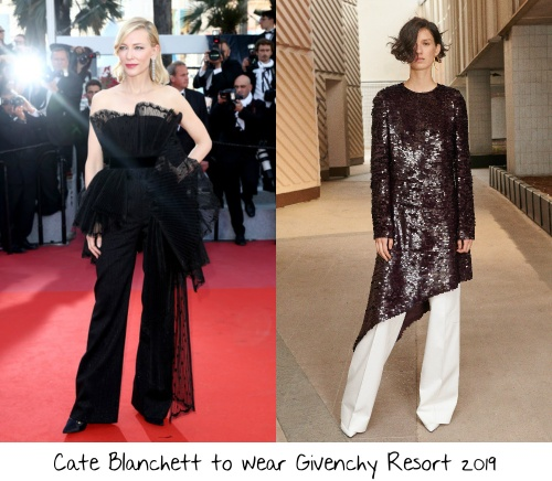 90f286a21 During her run as the Madame le President of the 2018 Cannes Film Festival  jury Cate Blanchett rocked two Givenchy Couture ensembles.