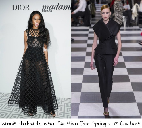 9e4a69cdf Finishing out the stars whom I would love to see on this front row is the  gorgeous supermodel Winnie Harlow. She has been a front row fixture at Dior  ...