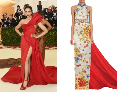 457fc33fb66e Bollywood beauty Deepika Padukone has been a guest at the Met Gala the last  two years. Her first she almost faded into the background wearing a simple  Tommy ...