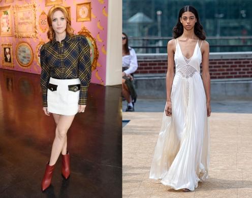 Brittany Snow to wear Jonathan Simkhai Spring 2020 RTW