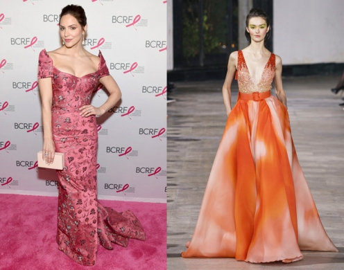 "Katherine McPhee Foster to wear Georges Chakra Spring 2019 Couture for the premiere of ""David Foster: Off The Record"""