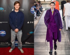 "Lucas Hedges to wear Berluti Spring 2020 Menswear for the premiere of ""Honey Boy"""