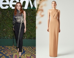 "Madeline Brewer to wear Cushnie Resort 2020 for the premiere of ""Hustlers"""