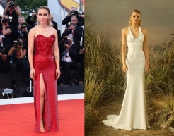 "Scarlett Johansson to wear Ateleir Versace Fall 2019 Couture for the premiere of ""Jojo Rabbit"""