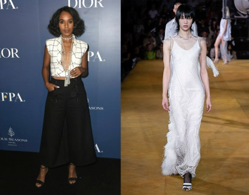 Kerry Washington to wear Burberry Spring 2020 RTW