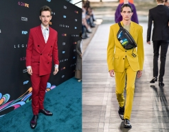 "Dan Stevens to wear Berluti Spring 2020 Menswear for the premiere of ""Lucy In The Sky"""
