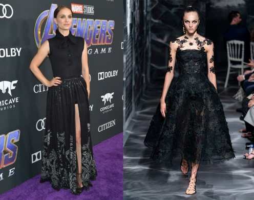 "Natalie Portman to wear Christian Dior Fall 2019 Couture for the premiere of ""Lucy in the Sky"""