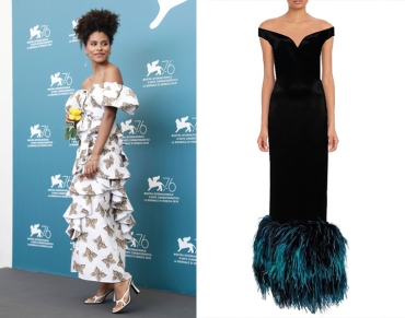 "Zazie Beetz to wear custom Prada for the premiere of ""Lucy in the Sky"""