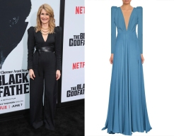 "Laura Dern to wear custom Saint Laurent for the premiere of ""Marriage Story"""