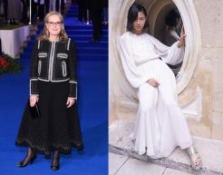 Meryl Streep to wear Giambattista Valli Resort 2020 for the Inagural Tribute Actor Award Gala