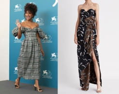 "Zazie Beetz to wear Oscar de la Renta Resort 2020 for the premiere of ""Seberg"""