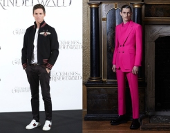 "Eddie Redmayne to wear Alexander McQueen Spring 2020 Menswear for the premiere of ""The Aeronauts"""