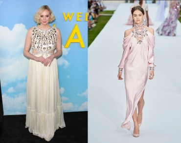"Gwendoline Christie to wear Ralph & Russo Fall 2019 Couture for the premiere of ""The Personal Histoy of David Copperfield"""