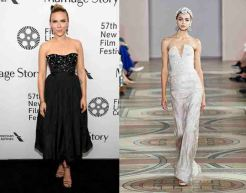 Scarlett Johansson to wear Armani Prive Fall 2019 Couture