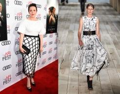 Olivia Colman to wear Alexander McQueen Spring 2020 RTW