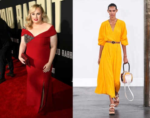 Rebel Wilson to wear Gabriela Hearst Spring 2020 RTW