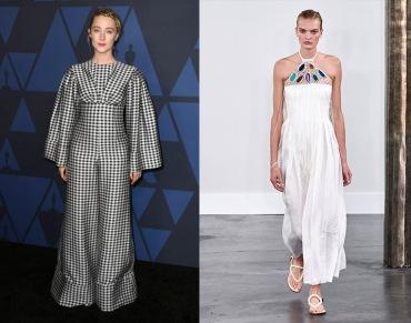 Saoirse Ronan to wear Gabriela Hearst Spring 2020 RTW