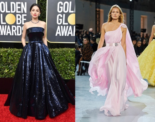 Ana de Armas to wear Alexandre Vauthier Spring 2020 Couture
