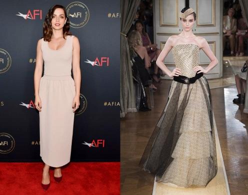 Ana De Armas to wear Armani Prive Fall 2018 Couture