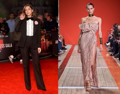 Ana de Armas to wear Elie Saab Spring 2020 RTW