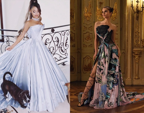 Ariana Grande to wear Atelier Versace Spring 2020 Couture