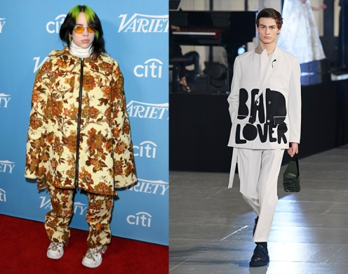 Billie Eilish to wear Valentino Fall 2020 Menswear