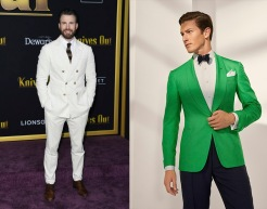 Chris Evans to wear Ralph Lauren Spring 2020 RTW