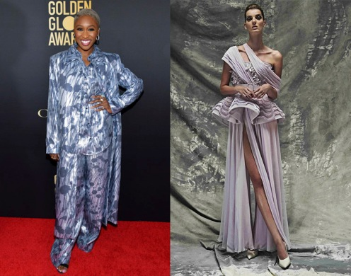 Cynthia Erivo to wear Azzi & Osta Fall 2019 Couture
