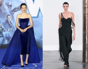 Daisy Ridley to wear Gabriela Hearst Spring 2020 RTW