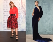 Eva Mendes to wear Monique Lhuillier Fall 2020 RTW