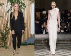 Gwyneth Paltrow to wear Antonio Grimaldi Spring 2019 Couture