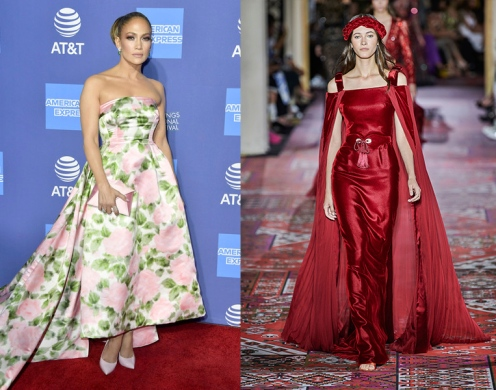 Jennifer Lopez to wear Zuhair Murad Fall 2019 Couture